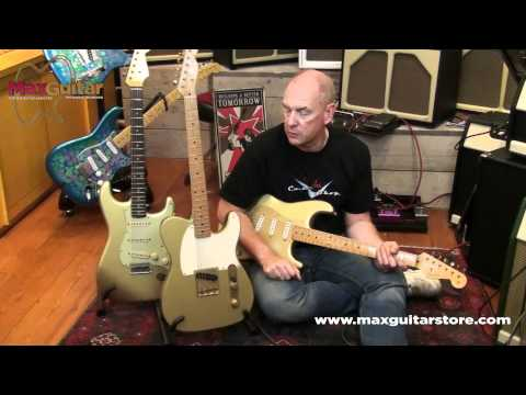 Max Guitar Store - Fender Custom Shop RELIC HLE GOLD