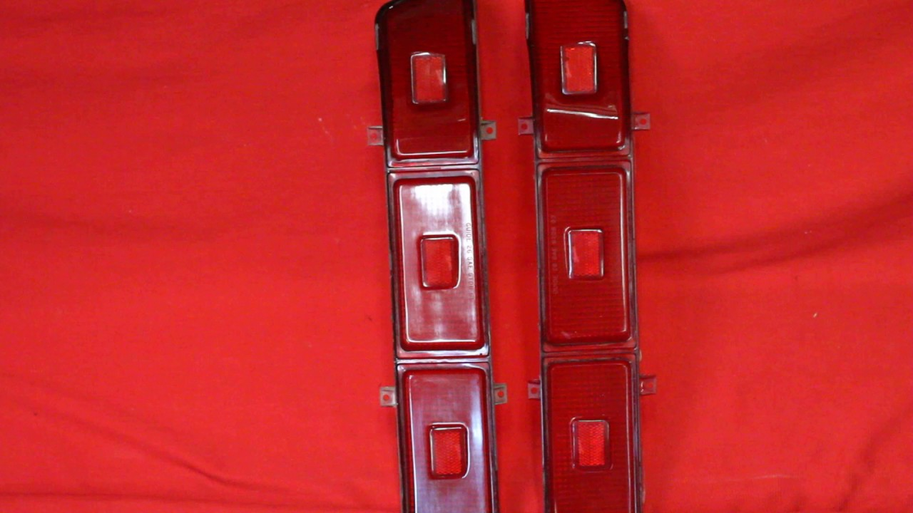 Pontiac Bonneville Tail Lights YouTube - 1965 pontiac catalina wiring diagram