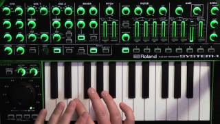 Школа синтеза от Roland - фанк-бас (Funky Bass)