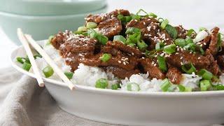 Instant Pot Mongolian Beef For Beginners