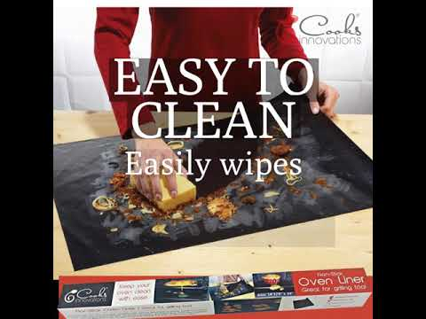 Non-Stick Oven Liner Keeps your Oven Clean With Ease!