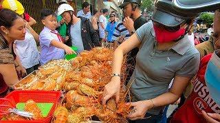 Người Sài Gòn Mua Tôm hùm siêu rẻ như đi mua Rau giá chỉ 60k ở vỉa hè