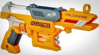 NERF N-STRIKE ELITE ACCUSTRIKE FALCONFIRE (Unboxing + Review)