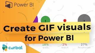 إنشاء مخصص GIF صور واستخدامها في السلطة BI