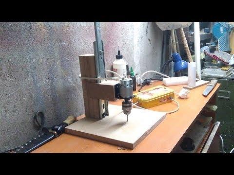 Simple homemade drill press