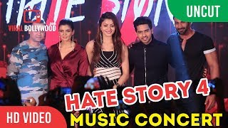uncut hate story 4 music concert with urvashi rautela karan wahi armaan malik and others