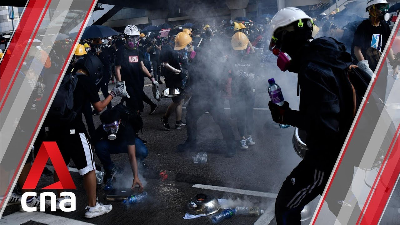 City-wide strikes bring Hong Kong to a standstill