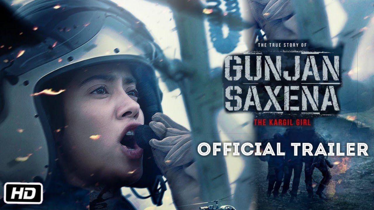 Gunjan Saxena The Kargil Girl Official Trailer Janhvi Kapoor Pankaj Tripathi Youtube