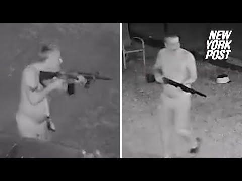 Gunman kills neighbor and ambushes police in hour-long shootout   New York Post