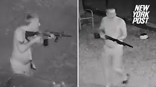 Gunman kills neighbor and ambushes police in hour-long shootout | New York Post