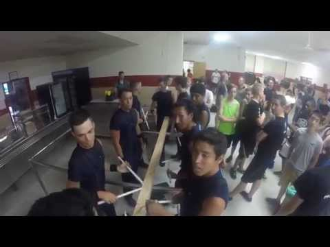 "Bluecoats 2014 - Snare Line ""Wood Split"""