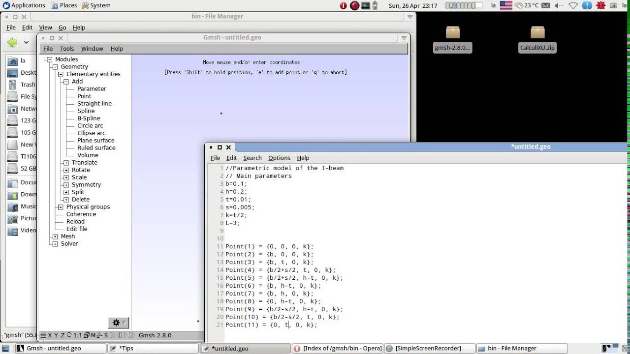 gmsh ubuntu