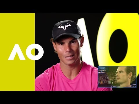 Andy reacts to emotional tribute (1R)   Australian Open 2019