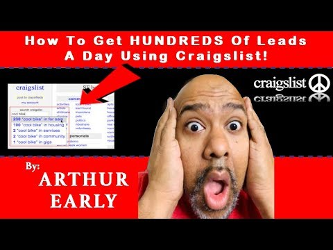 Craigslist Training 2018 How to Get HUNDREDS of leads daily