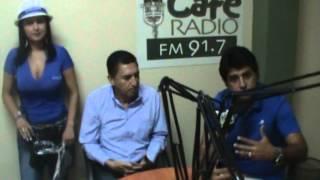 Entrevista en Radio Café de Jipijapa (parte 1)