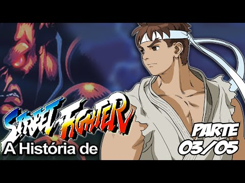 A História de Street Fighter Parte 03/05 - A Origem dos Mitos
