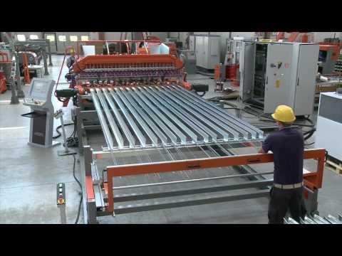 Линия для производства сварной сетки MESHLINE BB ALL CA (механическое устройство подачи ALL CA)