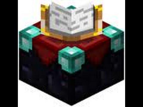 Comment Crafter Une Table D39enchantement Dans Minecraft