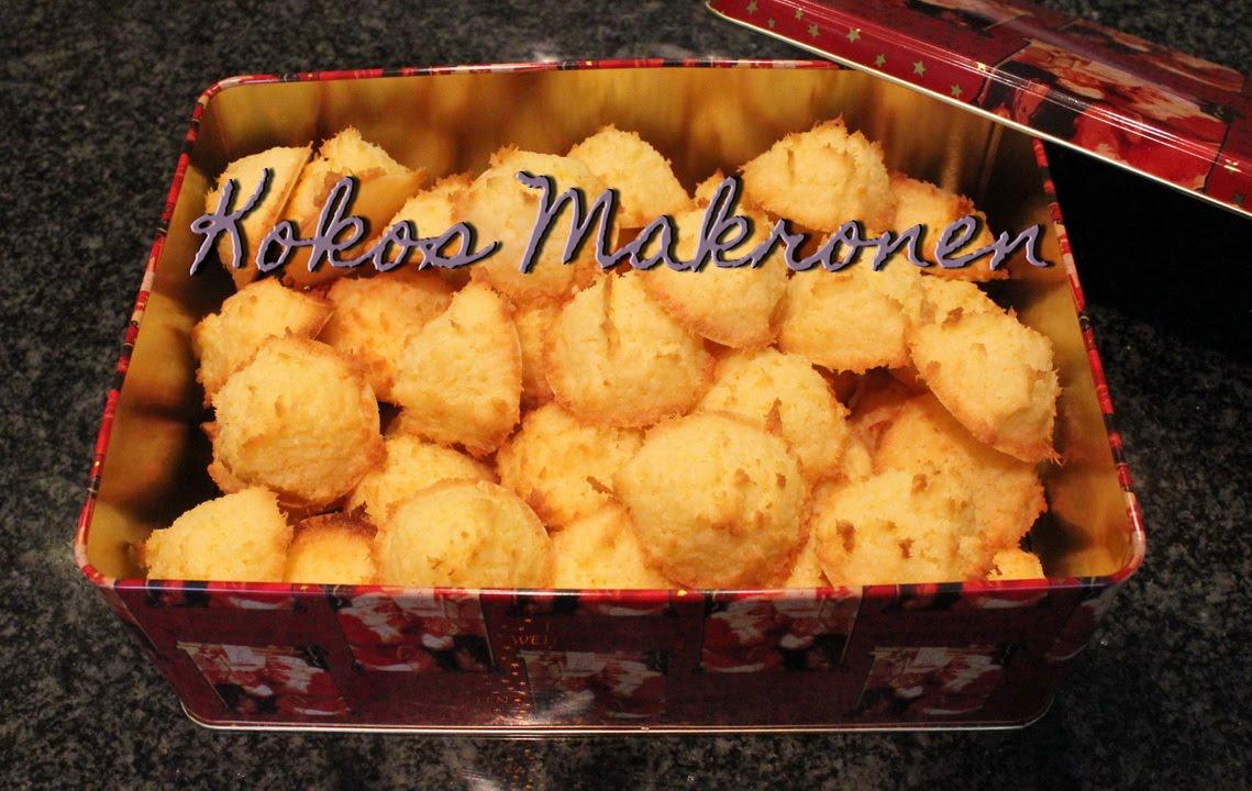 Alte Weihnachtsplätzchen Rezepte.Kokosmakronen Rezept Plätzchen Rezepte Für Weihnachten Plätzchen Woche 2