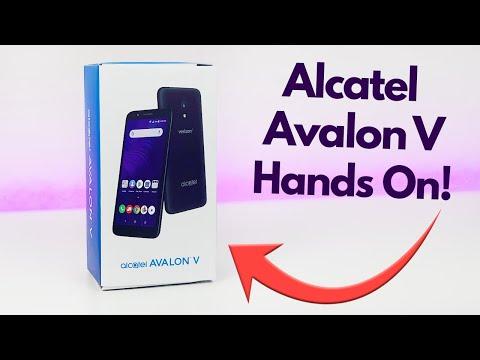Alcatel Avalon V for Verizon Wireless - Hands On & First Impressions!