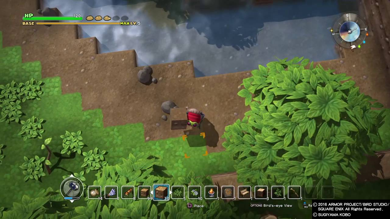Dragon quest builders cantlin garden chapter 1 youtube Dragon quest builders cantlin garden