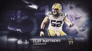 #51 Clay Matthews (LB, Packers) | Top 100 Players of 2015