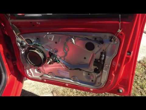 Skoda Fabia How to remove door trim / change speaker (hangszóró csere)