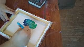 (131) Prepping acrylic pour paintings for Sale
