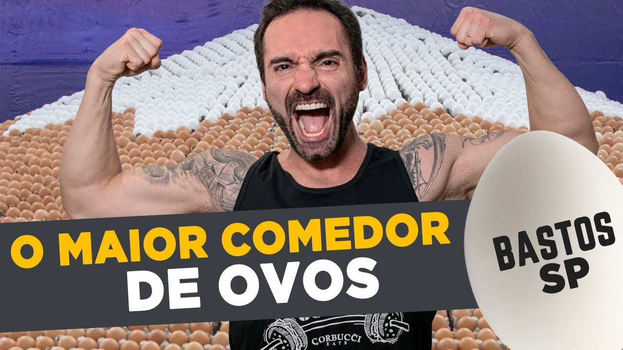 O MAIOR COMEDOR DE OVOS DO BRASIL!! 😱🥚 (Festa do Ovo em Bastos/SP) -  YouTube
