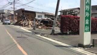 熊本地震(平成28年4月) 益城町の現状