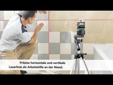 selbstnivellierender 360 linien laser pll 360 bosch youtube. Black Bedroom Furniture Sets. Home Design Ideas