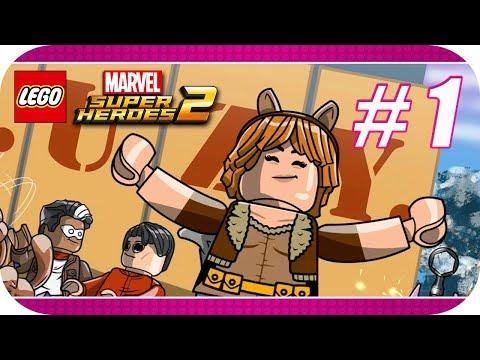 """LEGO Marvel Super Heroes 2 - Nivel Extra 1 (Misión de Gwenpool) """"¡Pánico en el Picnic!"""" [Xbox One X]"""