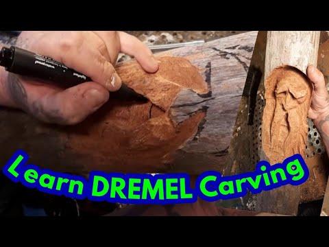 Dremel carving, #2