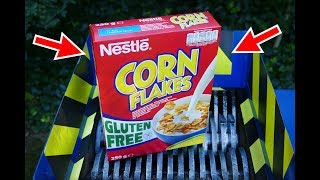 NESQIUK, CORN FLAKES, CINI MINIS AND OTHER CEREALS SHREDDING