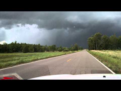 Tornado Benton County 8/24/14 Touch Down Part 1