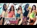 TRYING OUT HALLOWEEN COSTUMES!! ft. FashionNova