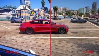 Graphics Comparison - GTA 5 PC - Real Rage  1.290.6 vs Vanilla