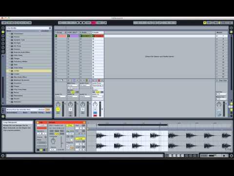 Ableton Live Tutorial (Techno Kick)