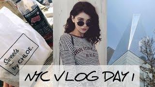 NEW YORK CITY VLOG DAY 1 | ChloeLock