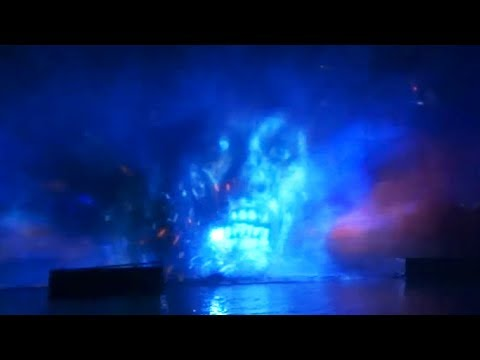 NEW Fantasmic! 'Pirates of the Caribbean' scene at Disneyland 2017