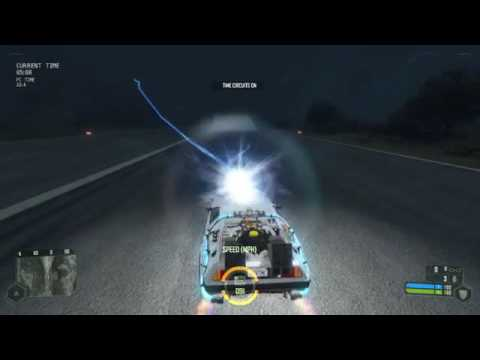 Back to the Future Delorean Crysis Mod