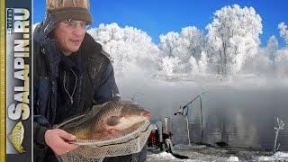 Ловля карася и сазана фидером в экстремальный мороз (рыболовная байка) [salapinru](Очередная рыболовная байка, на этот раз сезонная :) Давным-давно, добрых 11 лет назад, случилась у меня удивит..., 2017-01-24T06:34:50.000Z)