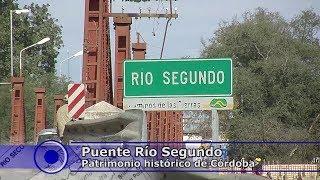 Puente histórico en Río Segundo