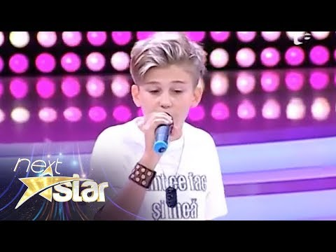 "Oscar - demonstrație de rap pe scena ""Next Star"""