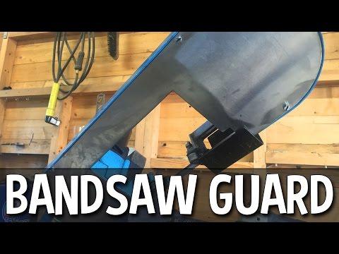 Making A Bandsaw Guard