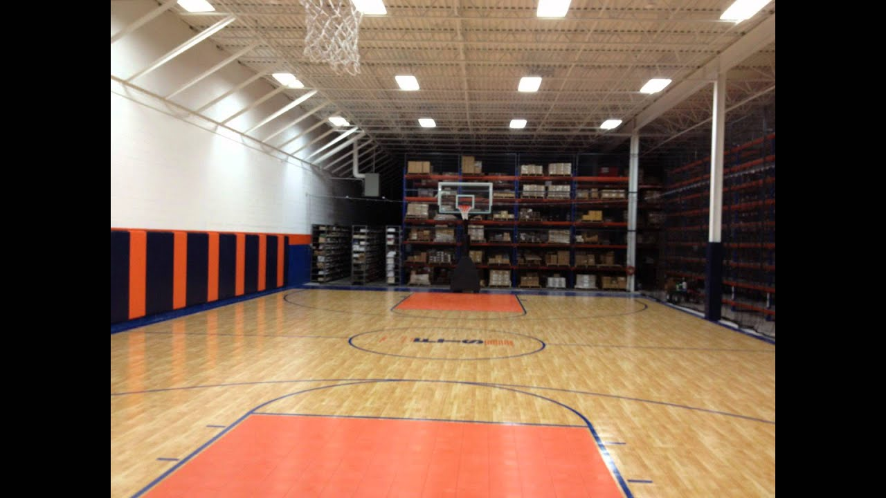 Sport Court Ohio Warehouse Transformation