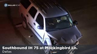 Scene of fatal crash on US 75 thumbnail