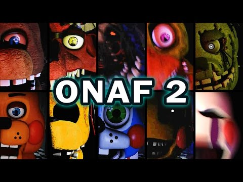 One Night at Freddy's 2 - Jumpscares / Gameplay / Minigames