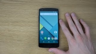 Nexus 5 Android 5.0 Lollipop Official LRX21O - Review (4K)
