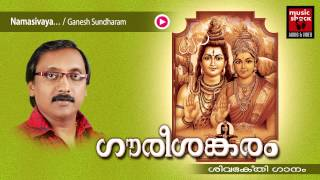 നമശ്ശിവായ | Hindu Devotional Songs Malayalam | Shiva Devotional Songs | Ganesh Sundaram Songs